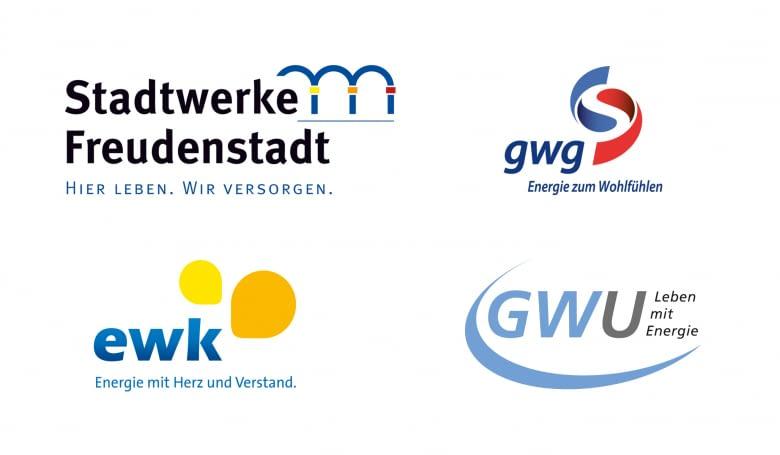 Logos der home&smart Whitelabel Kunden
