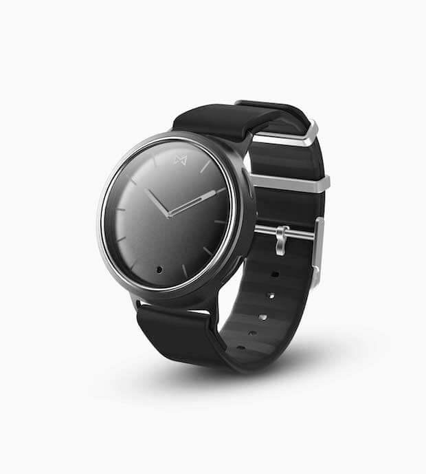 Smartwatch Misfit Phase in Schwarz