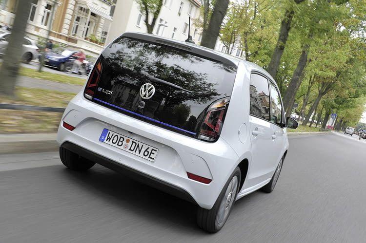 VW e-up! ist ein Elektroauto von Volkswagen, der sich perfekt für die Stadt eignet