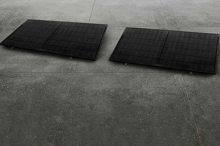 Das priwat priFlat Duio Balkonkraftwerk ist für Garage, Carport und Flachdach geeignet