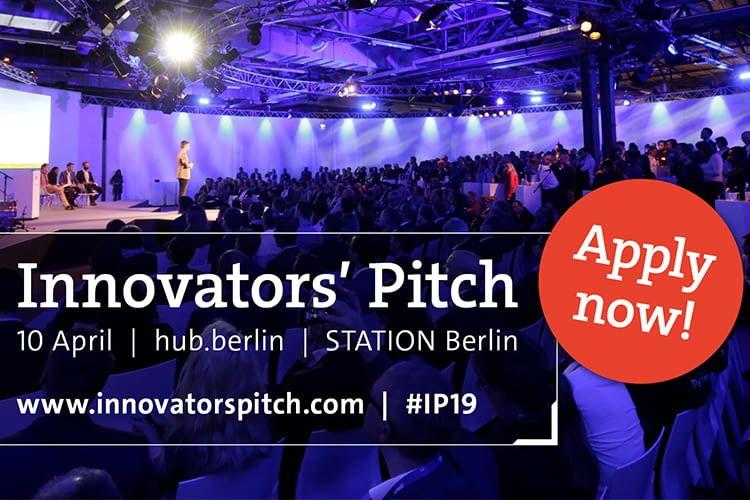 Der Innovator's Pitch ist eine Gelegenheit für Startups, sich einem Fachpublikum zu präsentieren