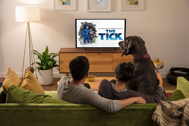 Mit dem Fire TV Stick lassen sich ältere Full HD-TVs zum Smart TV nachrüsten