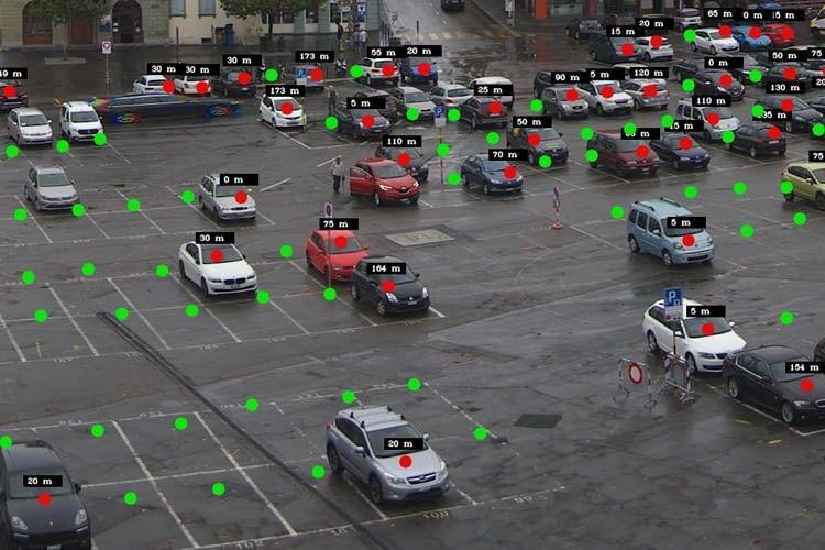 Parkleitsystem Parquery ist etwa im Schweizer Vevey bereits im Einsatz