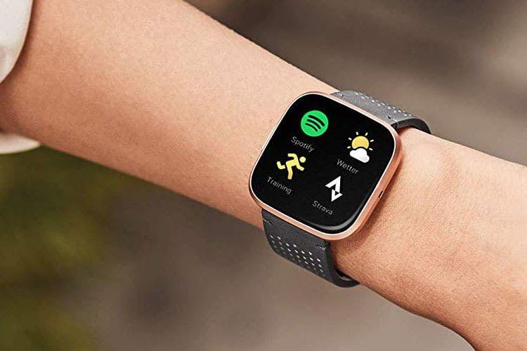Per Spotify App lassen sich Songs auch direkt von der Smartwatch abspielen