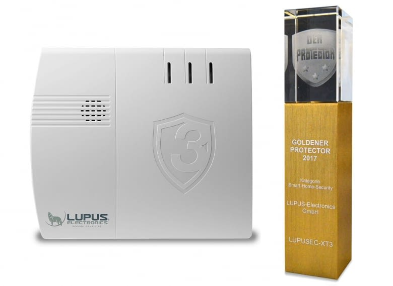 LUPUSEC ist 2017, laut Münchner SicherheitsExpo, das beste Sicherheitssystem im Bereich Smart Home