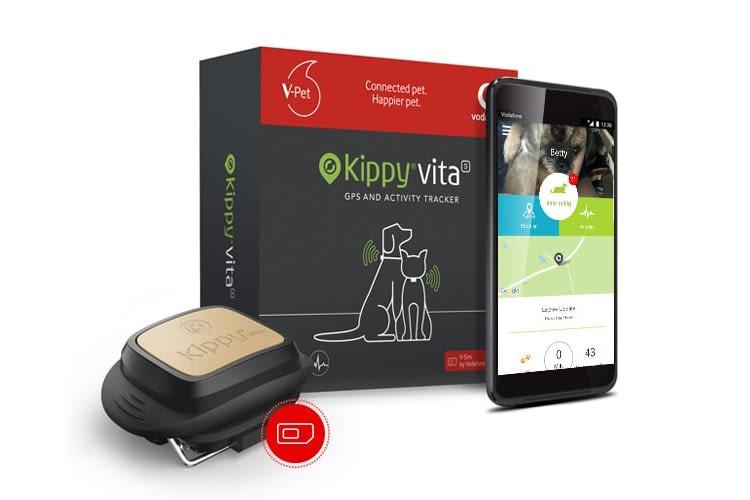 Kippy Vita ist der erste Tier-Tracker, der Ort und Gesundheit checkt