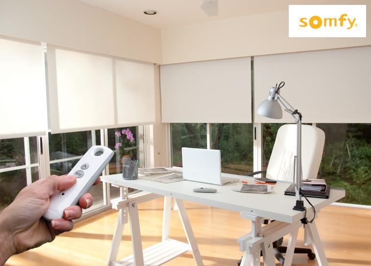 Somfy TaHoma Smart Home Rolladensteuerung