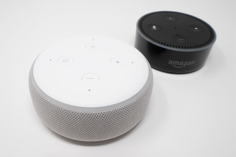 Amazon präsentiert den neuen Amazon Echo Dot 3 in neuem Design
