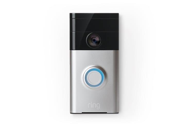 Die Ring Videotürklingel verfügt über 2-Wege-Audio