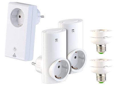 CASAcontrol Smart-Home-Systeme Smart Wi-Fi Starter-Set.