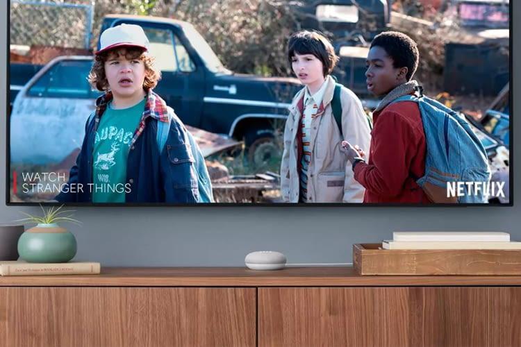 Mit Google Chromecast oder Chromecast Ultra lässt sich Netflix über Google Home Mini sprachsteuern