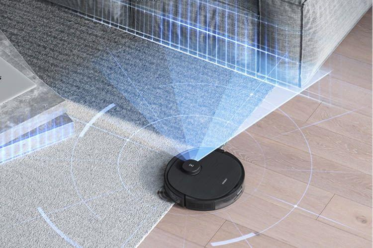 Dieser Roboter orientiert sich per Laser und Kamera