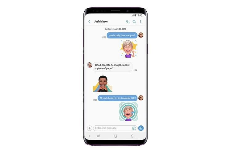 Samsung Galaxy S9 mit AR-Emojis