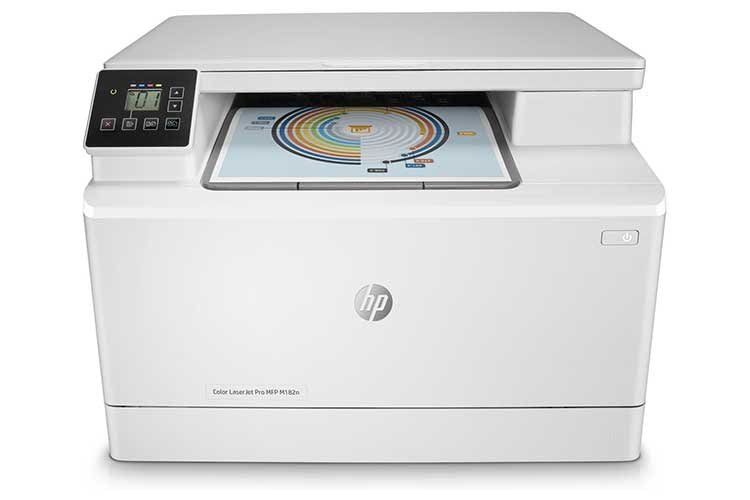 Der Multifunktionsdrucker HP Color LaserJet Pro M182n unterstützt leider keinen automatischen Duplexdruck