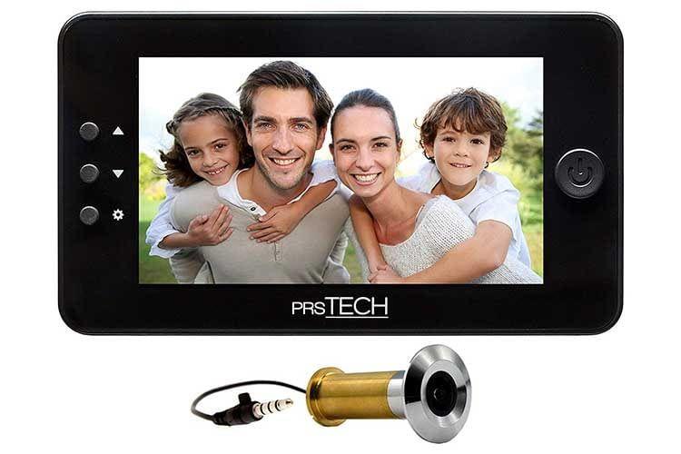 Der digitale Türspion prsTECH Door-CAM DC2 PLUS ist eine gute Lösung für Technik-Puristen
