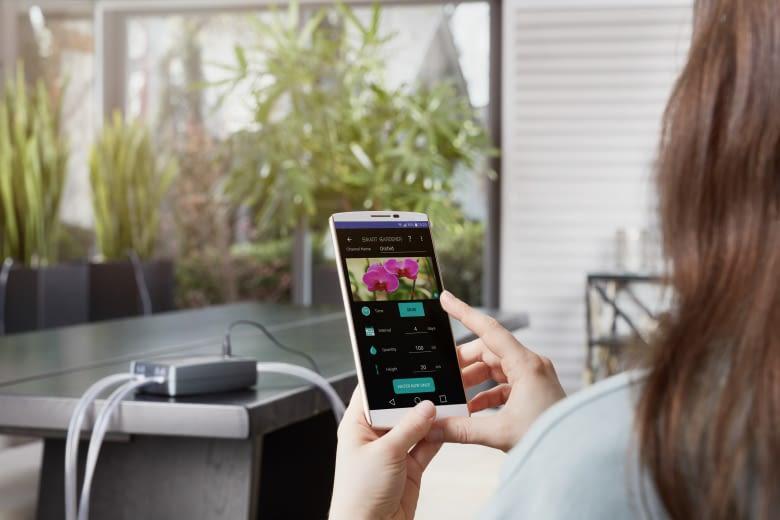 Die Konfiguration des Smart Gardeners erfolgt per Android-App