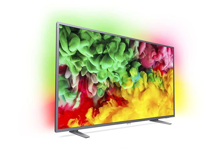Philips Smart TV 6703 für Einsteiger mit neuer Bedienoberfläche Saphi