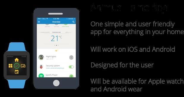 Animus Home App für das Smart Home