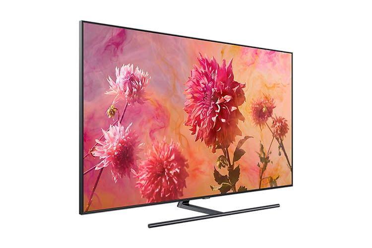 Der neue Samsung Q9FN Smart TV mit QLED-Technik bietet extrem gute Helligkeitswerte