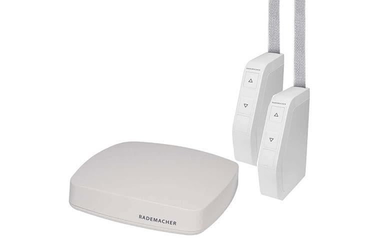 RADEMACHER HomePilot ist ein Funk-Gateway, mit dem sich die Rollladen des Herstellers in ein Smart Home System einbinden lassen