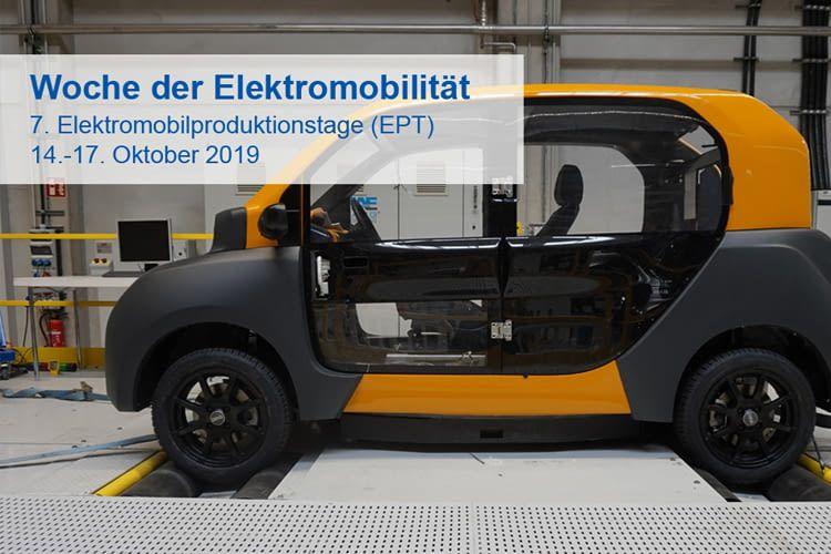 Die Themen Batterie- und Elektromotorenproduktion stehen dieses Jahr im Fokus