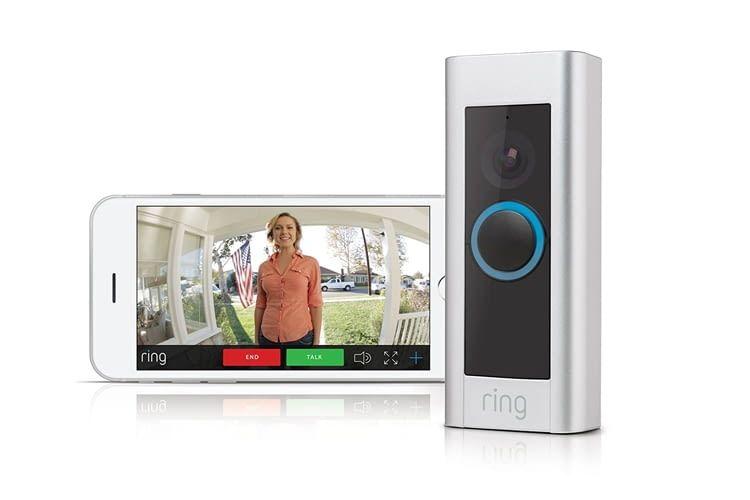 Für die Ring Video Doorbell Pro gibt es verschiedenfarbige Hüllen