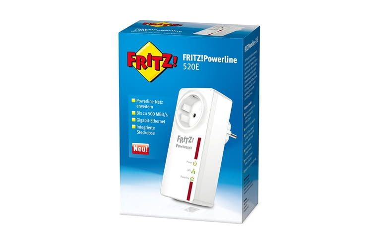 FRITZ!Powerline 520E ist ohne Software-Installation sofort einsatzbereit