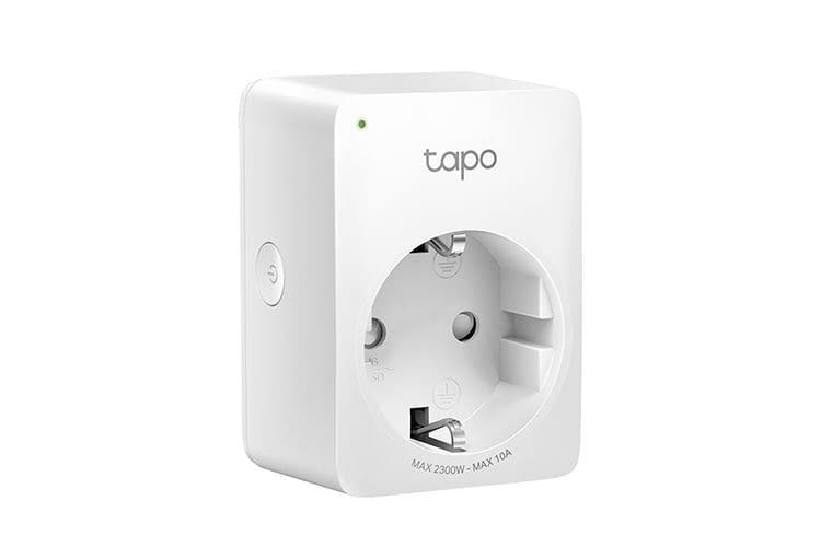 Die WLAN Steckdose Tapo P100 kann per Smartphone App oder Sprachassistenten gesteuert werden