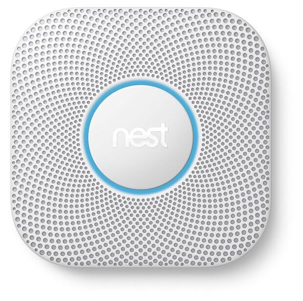 Der Nest Protect Rauchmelder in der 2. Generation
