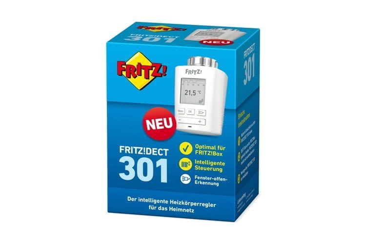 Der Displayinhalt von FRITZ!DECT 301 ist in 90-Grad-Schritten drehbar