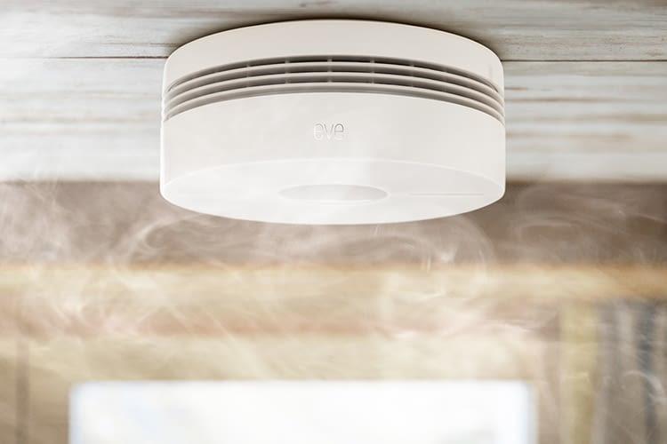 Rauchmelder Eve Smoke entspricht den HomeKit-spezifischen Sicherheitsstandards