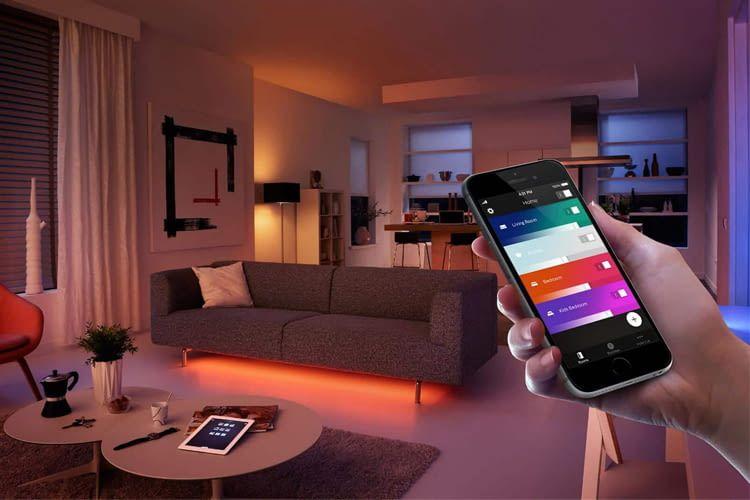 Die Philips Hue Bridge macht die Steuerung der Leuchten per App möglich