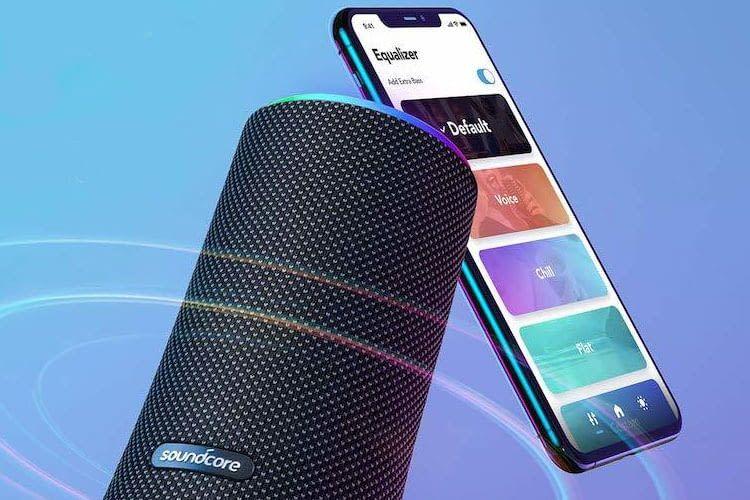 Nutzer können mit der Soundcore App weitere Einstellungen an ihrem Souncore Flare 2 Bluetooth Lautsprecher vornehmen