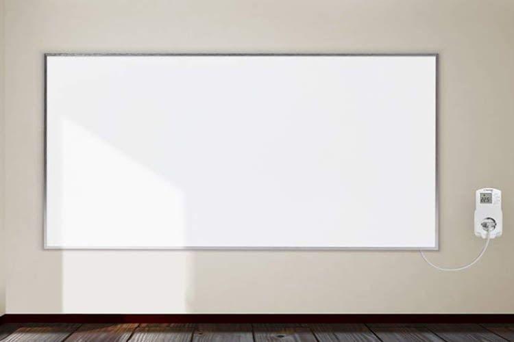 Mit Thermostat lässt sich das Infrarot-Heizpanel Trotec TIH 700 S komfortabel regulieren