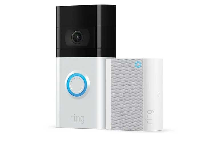 Ring Video Doorbell 3 unterstützt 5 GHz WLAN und kommt im Bundle mit Türglocke