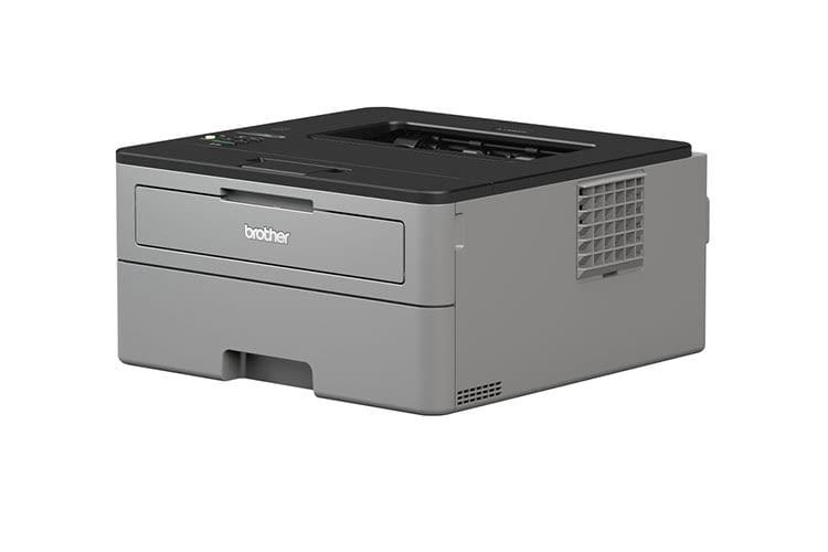 Der Schwarz-Weiß-Laserdrucker Brother HL-L2350DW unterstützt Windows, Mac und Linux