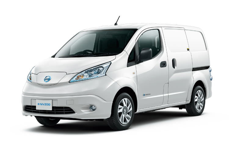 Der Nissan e-NV200 ist einer der ersten vollelktrischen Transporter.