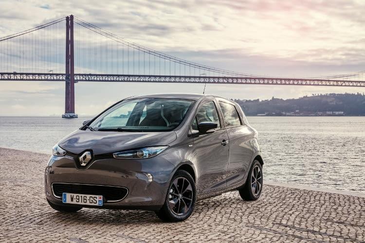 Platz 7 im Reichweiten Vergleich: Das Elektroauto Renault ZOE