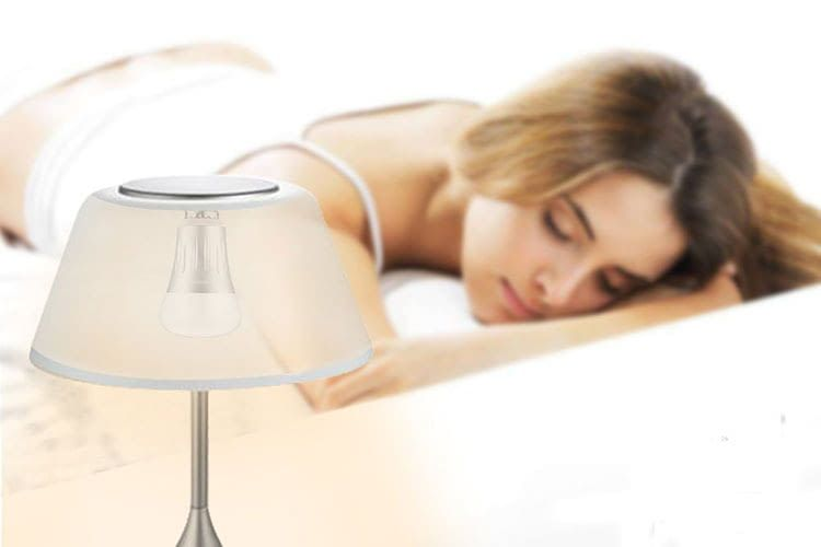 Dank Zeitplan-Funktion kann man sich vom Bawoo LED-Leuchtmittel per Licht wecken lassen