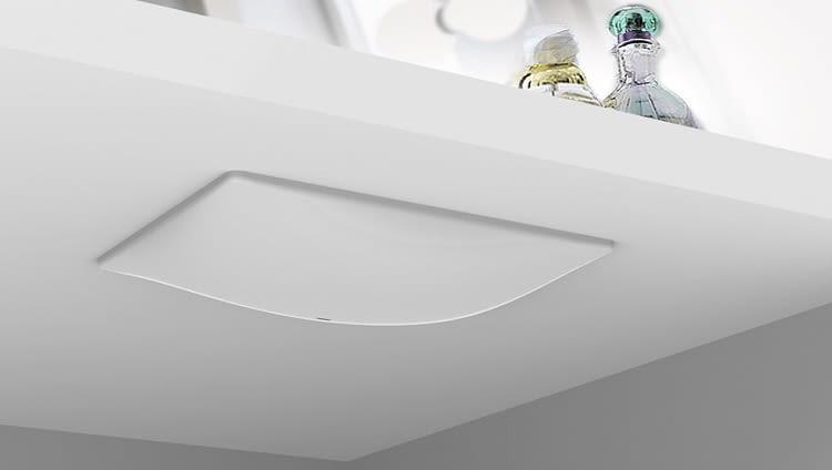Fibaro Swipe kann versteckt installiert werden und erkennt Gesten sogar durch Oberflächen hindurch