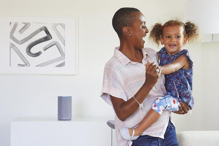 Alexa hat immer ein offenes Ohr – auch für Familienangelegenheiten