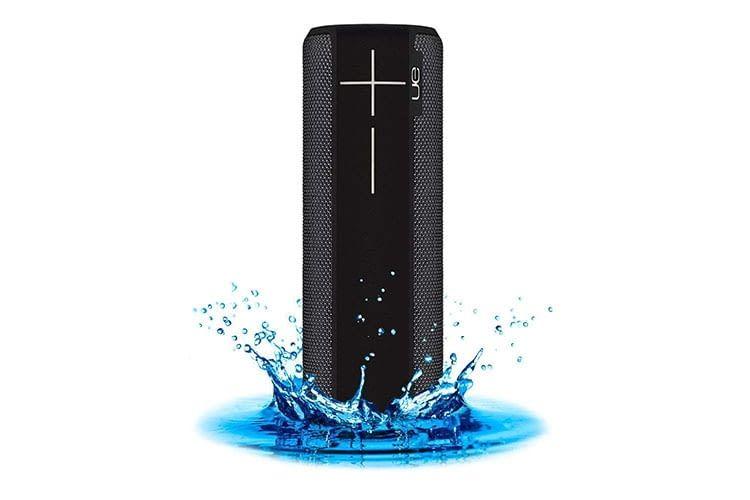 Ultimate Ears Bluetooth-Box Boom 2 ist wasserdicht und kann bei Verschmutzung einfach abgeduscht werden