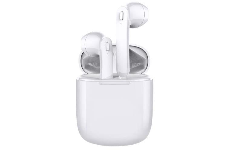Beim Design der Kopfhörer und dem Ladecase orientieren sich die BIK-3 In Ears am AirPods-Look