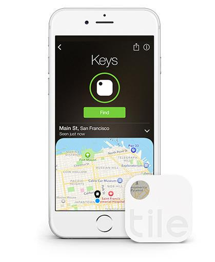 Bluetooth Tracker Tile & App