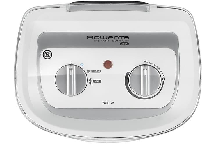 Besonders leiser Betrieb im Silence-Modus: ROWENTA Instant Comfort Aqua Heizlüfter