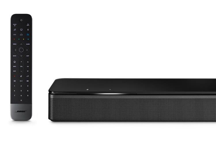 Trotz der geringen Größe produziert die Bose Soundbar 700 ein immersives Sounderlebnis