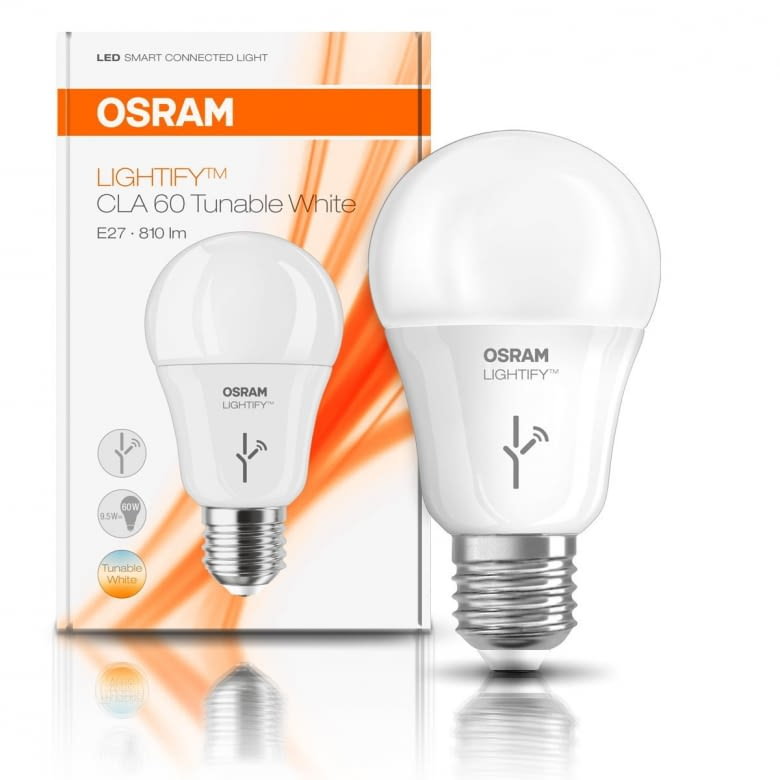 OSRAM LIGHTIFY CLASSIC A LED-Glühlampe ist über die LIGHTIFY App dimmbar
