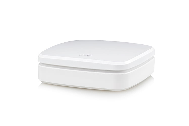 Der Reichweitenverstärker Eve Extend vergrößert die Bluetooth-Reichweite in Smart Homes mit HomeKit