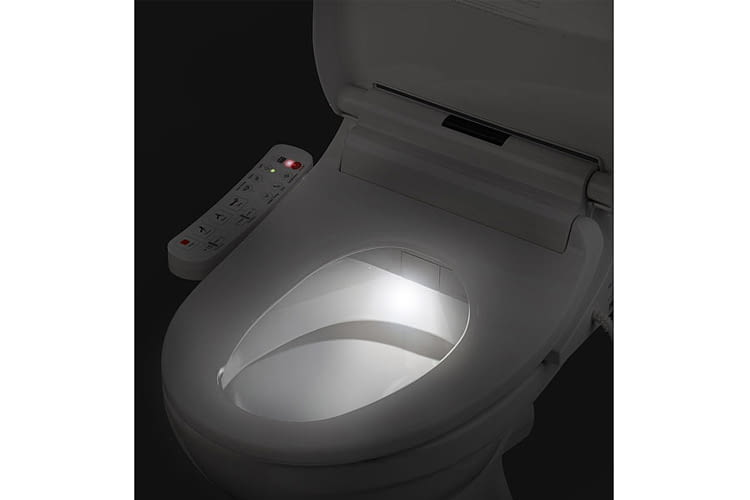 Smart toilet lid offers more hygiene and convenience thanks to the app