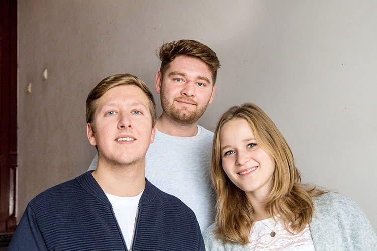 Timo, Andreas und Maren – Die Bewohner der Smart WG in Berlin-Kreuzberg
